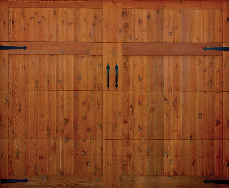 Wood Overlay Garage Door