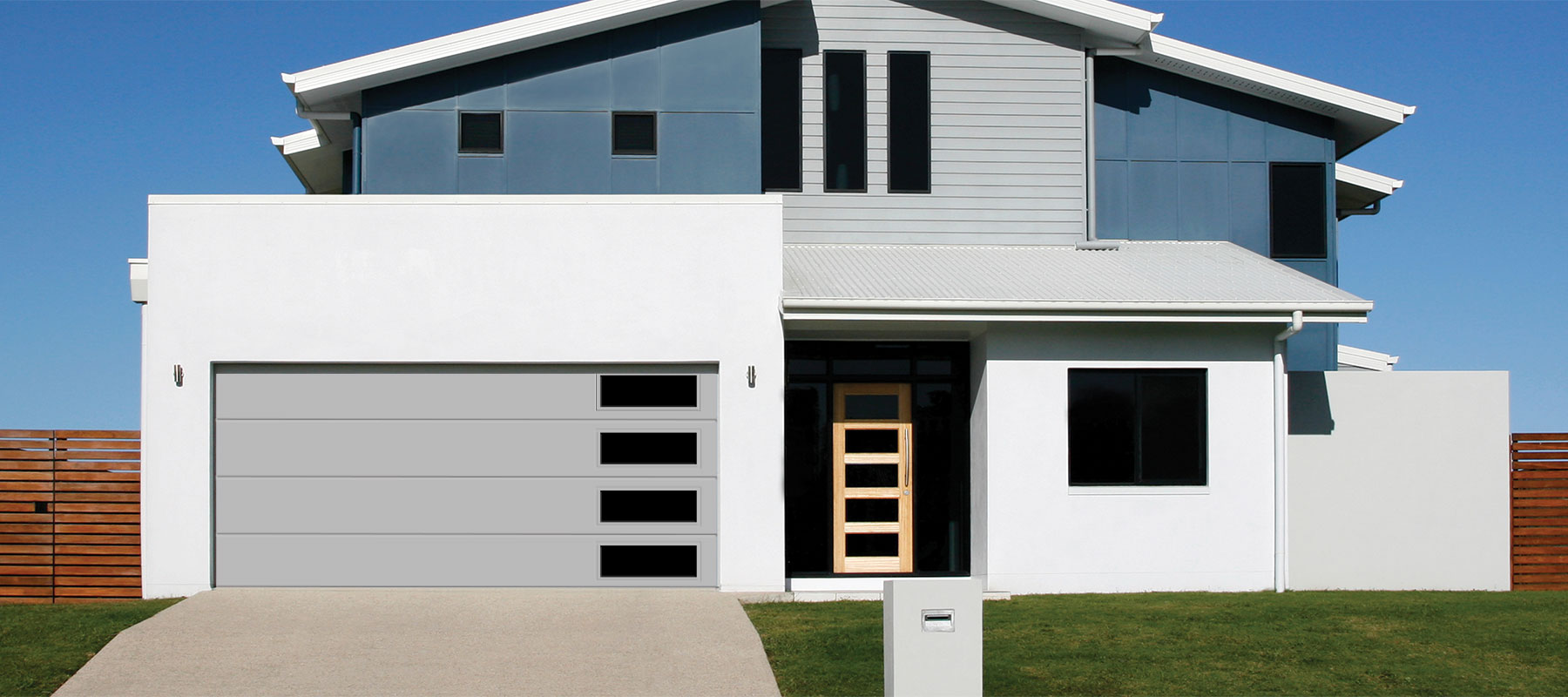 3650 Flush Panel Garage Door