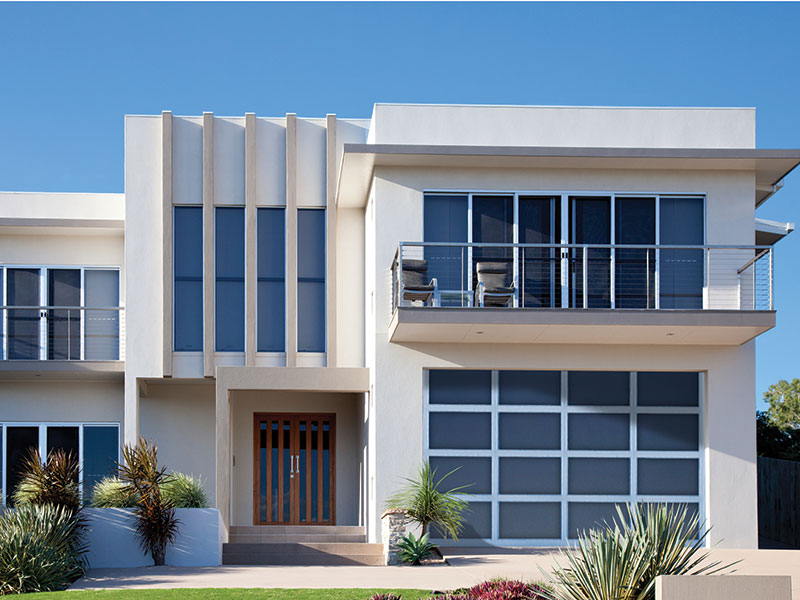Residential Aluminum Full View garage door